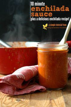 10 Minute Enchilada