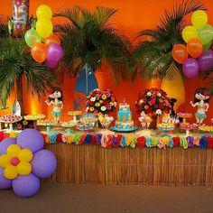 Resultado de imagem para festa tematica da moana