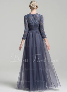 A-Line/Princess Sweetheart Floor-Length Ruffle Zipper Up Sleeves Long Sleeves No Other Colors General Plus Tulle Mother of the Bride Dress