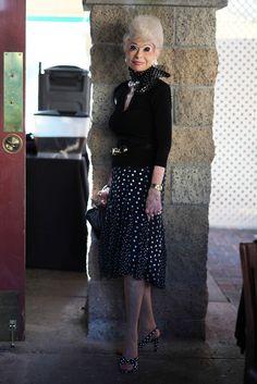 ADVANCED STYLE: Sally Thornton in San Diego