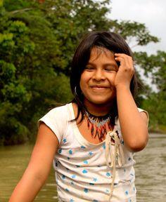 Amazon girl - taken on my trip to the amazon rainforest in Ecuador