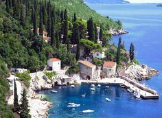 Trsteno, on the way to Dubrovnik from Split