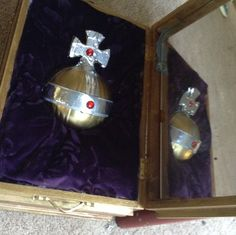 The Holy Hand Grenade in its case