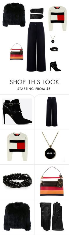 """""""Без названия #16"""" by anastasiahunterreal on Polyvore featuring мода, Valentino, Être Cécile, Tommy Hilfiger, H Brand и Saks Fifth Avenue Collection"""