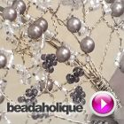 Tutorial - Videos: How to Create a Wire Wrapped Beaded Sprig | Beadaholique