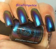 Glittery Fingers & Sparkling Toes: Review: I Love Nail Polish Birefringence & Cygnus Loop