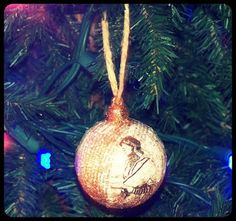 DIY: Shimmering Paper Ball Ornaments | Bona Fide Boho