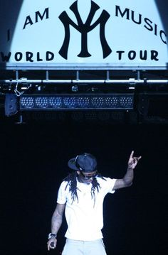 Lil Wayne...I went to this in NC, he puts on the best concerts I've ever been too!