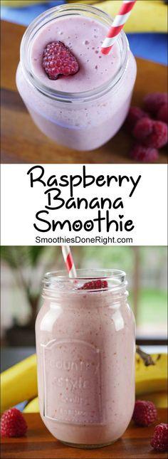 Raspberry Banana Smoothie #smoothie #rasberry #banana #smoothies #fruit #vitamins #juice #breakfast #breakfastrecipes #breakfastlovers #berries #berry #goodfood #healthy #healthyfood #healthyrecipes #healthylifestyle #healthyeating #recipe #recipeoftheday #recipes_to_go #inspiration #motivation