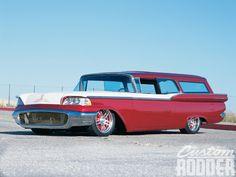 1950 ford custom station wagon | 1959 Ford Ranch Wagon Front