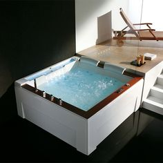 Sch ma d 39 installation d 39 une pompe chaleur piscine for Grande baignoire carree