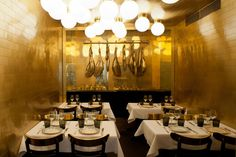 Anahi: The Rebirth of an Iconic Argentinian Restaurant in Paris   by Barcelona-based designer Maud Bury