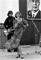 Hana ZAGOROVÁ,  Karel VÁGNER,  Brežněv plakát popmusic populární hudba komunismus Československo