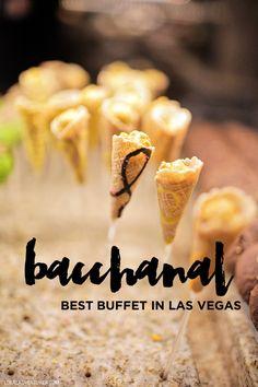 Bacchanal Buffet - the Best Buffet in Las Vegas.