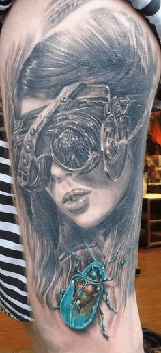 Tattoo by Neils Solling Oh, it's so cool seeing one of your big inspos being in a tatto!
