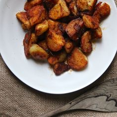 These Portuguese-style super-crisp, smoky paprika-coated potatoes are the perfect side dish at any table.