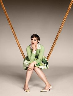 Lena Dunham, photographed in New York City on January 8th, 2013 for Entertainment Weekly..©Ruven Afanador