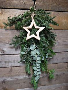 Kersttoef met decoratie ster