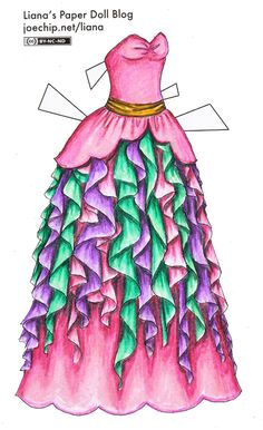 Liana's Paper Doll Blog » pink
