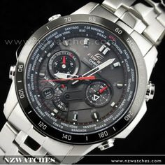 BUY Casio Edifice F1 Solar Chronograph Dual-Layer Face Watch EQS-1000DB-1AV, EQS1000DB - Buy Watches Online | CASIO NZ Watches