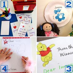 Letter writing activities for beginning writers  - Pinned by @PediaStaff – Please Visit ht.ly/63sNtfor all our pediatric therapy pins