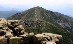Franconia Ridge, mont Lafayette, New Hampshire, juin 2014 Franconia Ridge, New Hampshire, Mount Rainier, Hiking, Mountains, Nature, Travel, Naturaleza, Voyage