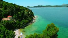 Lopud Island is famous for having the one of the best beaches in the Dubrovnik region.