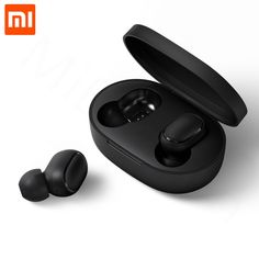 8dd73c7c153 In stock Xiaomi Redmi Airdots TWS Bluetooth Earphone Stereo bass BT 5.0  Eeadphones With Mic Handsfree