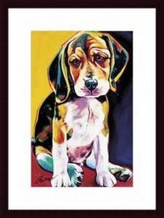 Otis by Ron Burns Framed Painting Print