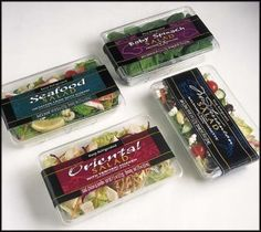 Deli Salad Trays | Package Design - Flipside Design, LLC / Delectable Designer