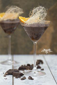 Mousse de Chocolate y naranja con aceite de oliva | por GastroAndalusi