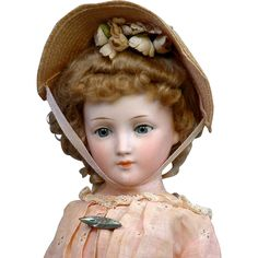 For the collector interested in building a comprehensive collection of lady dolls spanning the 19th and early 20th century, or a doll lover