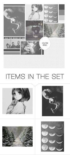 """Dedicated set & playlist ^_^"" by akihabara ❤ liked on Polyvore featuring art"