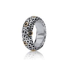 PANDORA | Silver ring, 14K