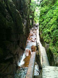 Flume Gorge, Lincoln, New Hampshire