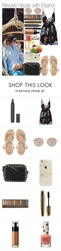 """""""• Revolve House with Eleanor"""" by dianasf ❤ liked on Polyvore featuring FRUIT, Topshop, Glamorous, ASOS, Gucci, Valentino, Sonix, Urban Decay, L'Oréal Paris and Japonesque"""