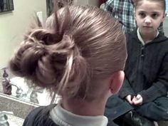 How to do a messy bun #2 video tutorial by CuteGirlsHairstyles