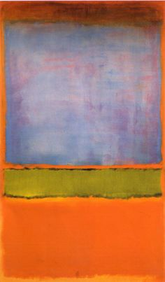 Mark Rothko No. 6 Violet Green and Red