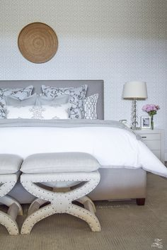 ZDesign At Home: A Transitional Master Bedroom Tour