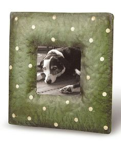 Take a look at this Green Dot Frame by Foreside on #zulily today!