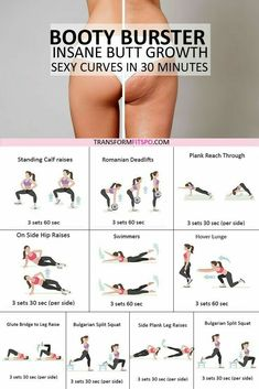 Feel the summer vibes cause this workout sure knows how to make you look hot in that bikini Get ready to turn heads and feel a million dollars Easy exercises done in 30 m. Fitness Workouts, Fitness Motivation, Sport Fitness, Butt Workout, Easy Workouts, At Home Workouts, Health Fitness, 4 Minute Workout, Leg Day Workouts