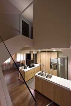 Maisonette at Bishan Interior Design Resources, Home Interior Design, Interior Designing, Apartment Design, Apartment Living, Home Decor Kitchen, Kitchen Interior, Mansion Designs, Home Reno
