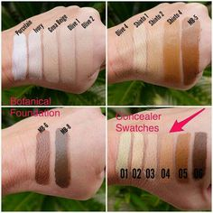 Let's color match you to your #perfect #foundation color. #Botanical Foundation   @aliciamichell