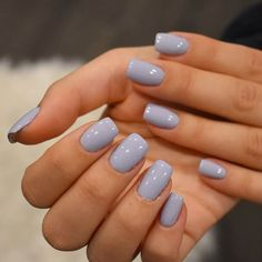 Trendy Nail Art Simple Blue Short Nails ❤ Intricate Short Acrylic Nails To Express Yourself ❤ Se Acrylic Nails Coffin Short, Blue Acrylic Nails, Simple Acrylic Nails, Summer Acrylic Nails, Acrylic Nail Designs, Coffin Nails, Marble Nails, Rounded Acrylic Nails, Acrylic Nail Shapes