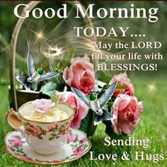 Good Morning! This is the day that the Lord has made!