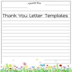 Thank You Letter Templates Thank you for stopping by Fluttering Through the Common Core! Letter size x 11 Use these friendly letter templates for your students to write a thank you letter to visitors and staff members Pe Teachers, Music Teachers, Thank You Letter Template, Letter Templates, Thank You Writing, First Grade Lessons, Friendly Letter, Substitute Teacher, Differentiated Instruction