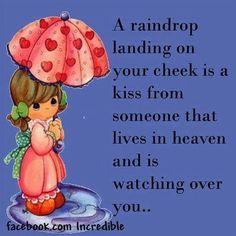Raindrop...kiss from heaven
