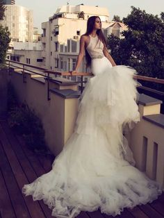 These Wedding Dresses are Undoubtedly a Fashion Statement - MODwedding