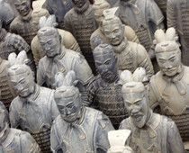 Let unforgettable sights of history do the teaching -- Xian's Terra Cotta warriors from the Qin Dynasty, faithful guardians of Emperor Qin Shi Huang's spirit for over 2,200 years.  -- http://www.examiner.com/article/unforgettable-terracotta-army-xian-china