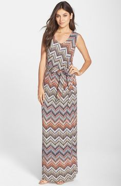 NYDJ Chevron Knit Maxi Dress available at #Nordstrom